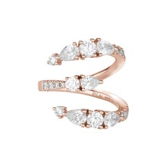 Fancy Cut Diamonds Ring Numerology Number 3