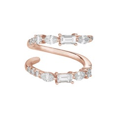 Fancy Cut Diamonds Ring Numerology Number 5