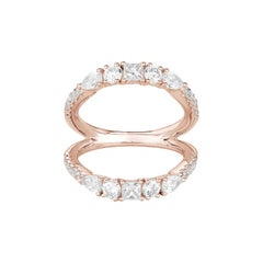Fancy Cut Diamonds Ring Numerology Number 8