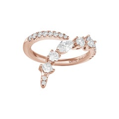 Fancy Cut Diamonds Ring Numerology Number 9