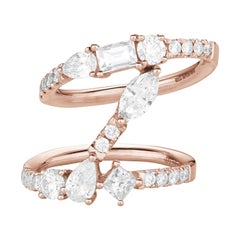 Fancy Cut Diamonds Rings Numerology Number 1
