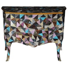 Fancy Modern Designer Chest of Drawers in Baroque Style