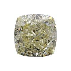 Fancy Yellow 5.43 Carat Yellow Diamond
