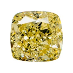 Fancy Yellow Diamond 6.51 Carat by Takat