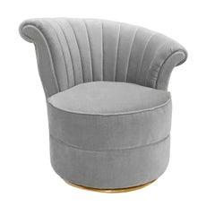 Fanit Velvet Armchair
