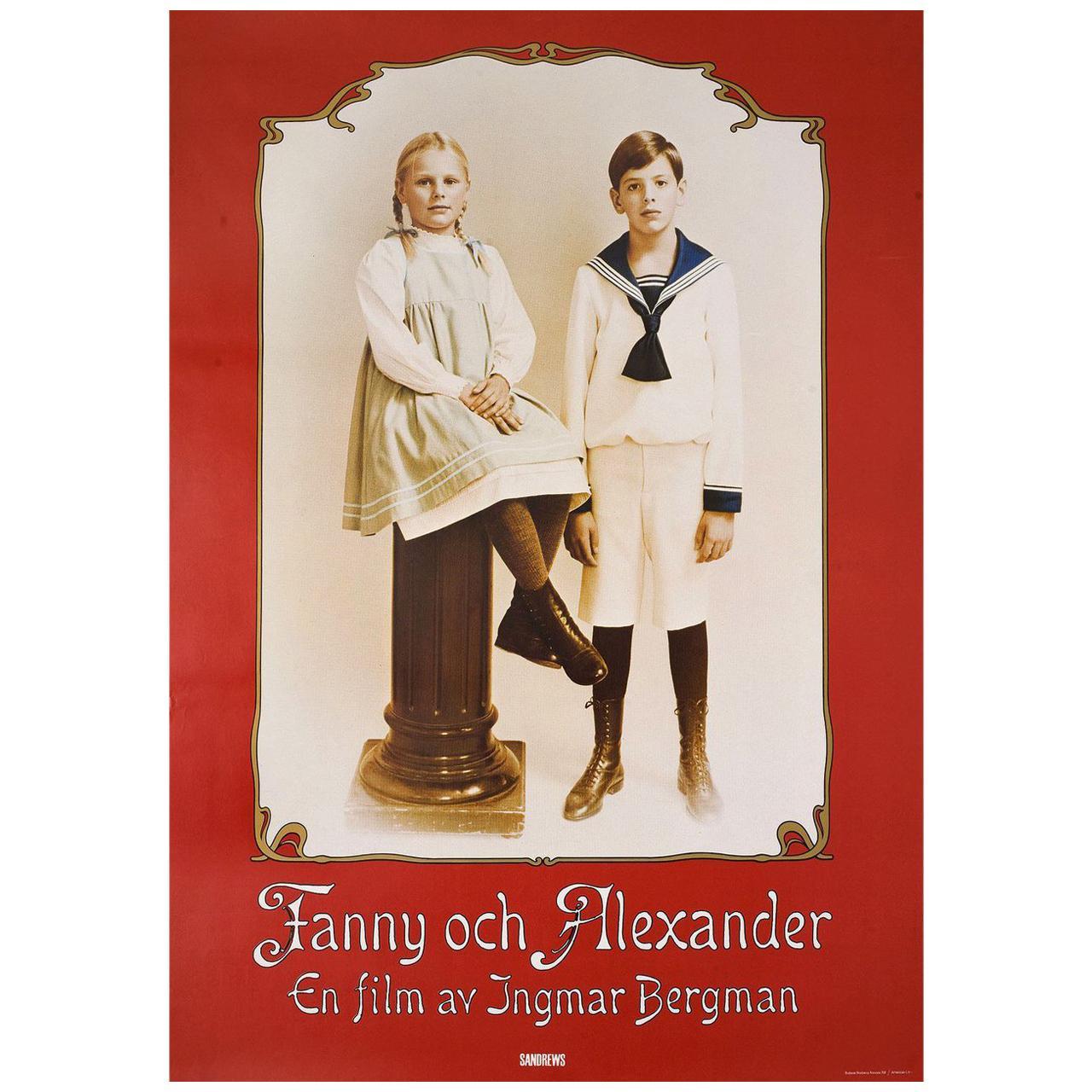 'Fanny and Alexander' 1982 Swedish B1 Film Poster