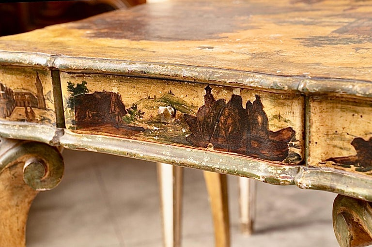 Truly one of a kind, in original condition, Arte Povera game table.