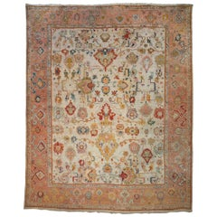 Fantastic Antique Oushak Carpet