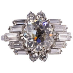 Fantastic Art Deco Diamond Ring