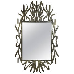 Fantastic Cat Tail Iron Mirror