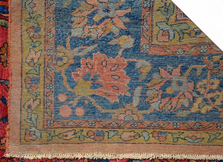 Fantastic Early 20th Century Sarouk Mahal Rug For Sale 2