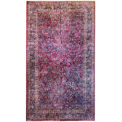 Fantastic Early 20th Century Sarouk Rug