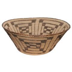 Fantastic Early 20thc Pima Indian Basket