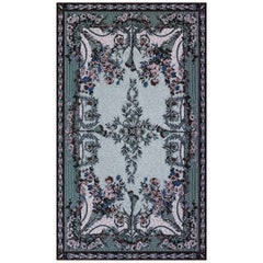 Fabric Tapestry with Artistic Rug Design Upholstered Panel on Demand