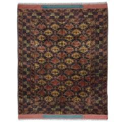 Fantastic Mid-20th Century Turkomen Mohair Rug