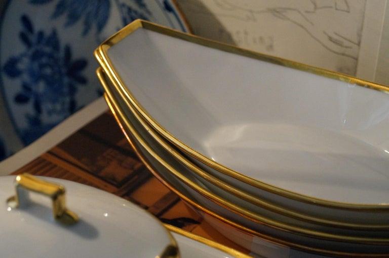 Fantastic Old Paris Porcelain Dessert Set, France, 1820s In Good Condition For Sale In Haarlem, Noord-Holland