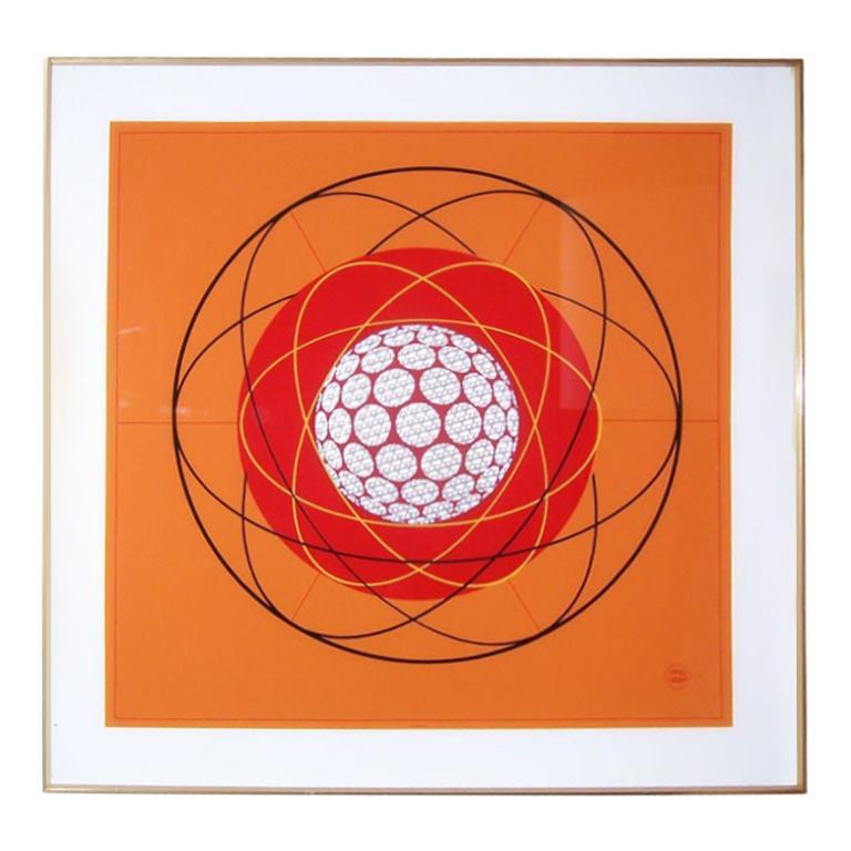 """Fantastic Original Art by Ernst Lurker """"Suspension"""" For Sale"""