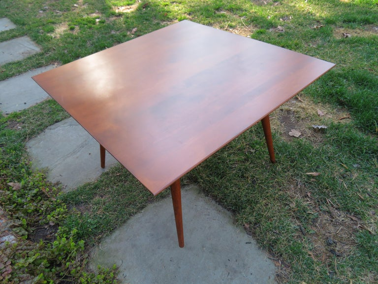 Mid-Century Modern Fantastic Paul McCobb for Planner Group Mid Century Square Coffee Table For Sale