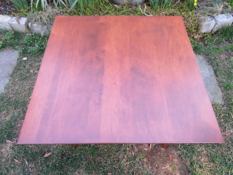 American Fantastic Paul McCobb for Planner Group Mid Century Square Coffee Table For Sale