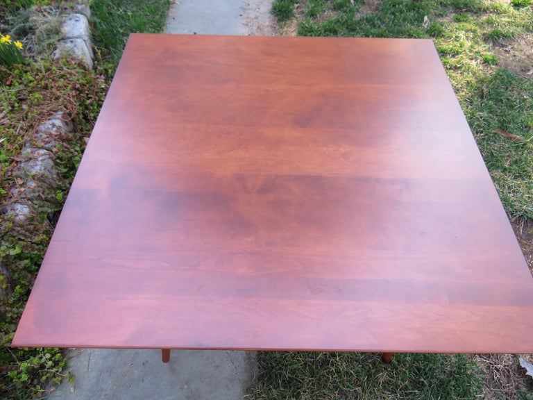 Fantastic Paul McCobb for Planner Group Mid Century Square Coffee Table For Sale 1