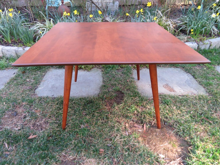 Fantastic Paul McCobb for Planner Group Mid Century Square Coffee Table For Sale 2