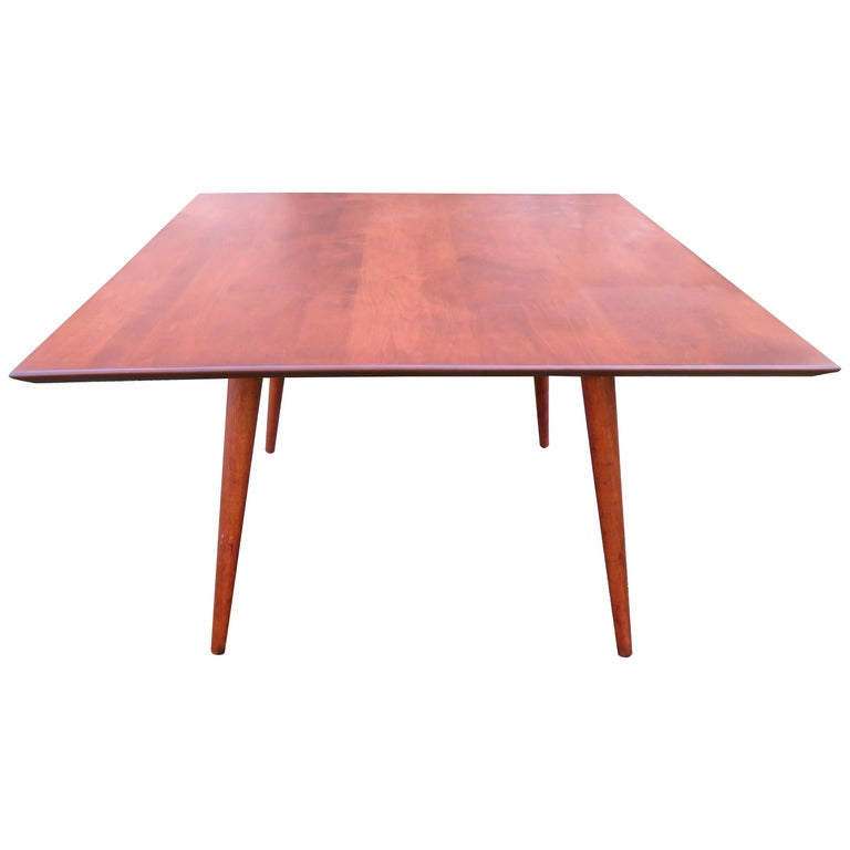 Fantastic Paul McCobb for Planner Group Mid Century Square Coffee Table For Sale
