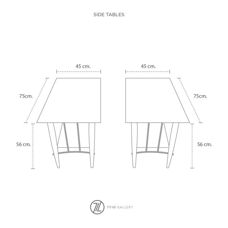 Fantastic Set of Tables Designed by Frank Kyle For Sale 1