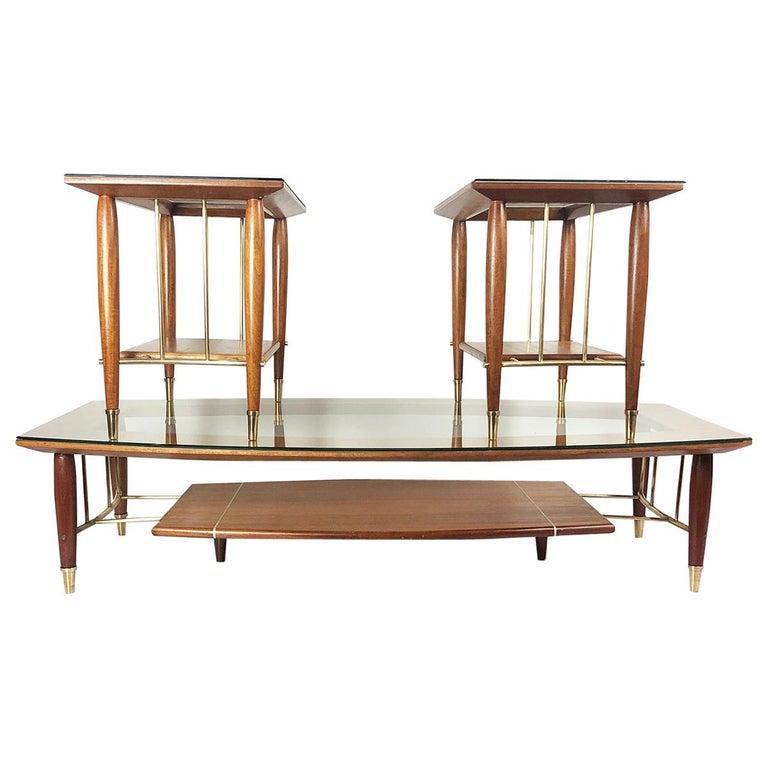 Fantastic Set of Tables Designed by Frank Kyle For Sale