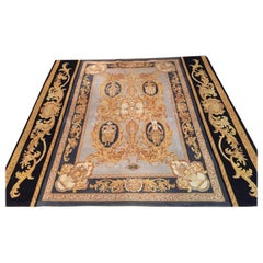 Fantastic Versace Carpet Baroque Style Gold and Black