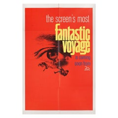 """Fantastic Voyage"" 1966 U.S. One Sheet Film Poster"