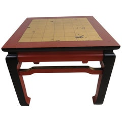 Fantasy Painted Ming-Style Table