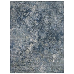Persian Hand Knotted - Farah Blue, Edition Bougainville