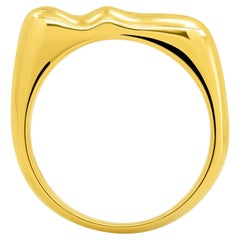 "FARBOD 18 Karat Yellow Gold Band Ring ""Hera"""