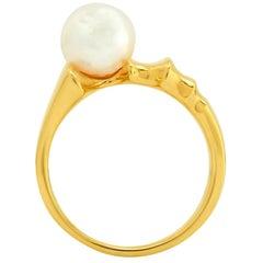 """FARBOD 18 Karat Yellow Gold Cocktail Ring """"Mitra"""""""