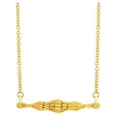 "FARBOD 18 Karat Yellow Gold Pendant ""Chelsea"" 'Unisex'"