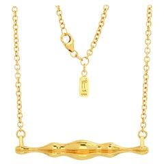 "FARBOD 18 Karat Yellow Gold Pendant ""Soho"" 'Unisex'"