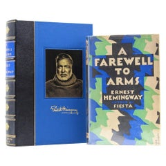"""A Farewell to Arms by Ernest Hemingway,"" First UK Edition, Original Dust Jacket"