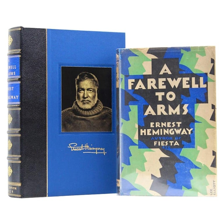 """A Farewell to Arms by Ernest Hemingway,"" First UK Edition, Original Dust Jacket For Sale"