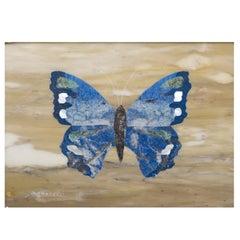 Farfalla Blu Mosaic Tableau