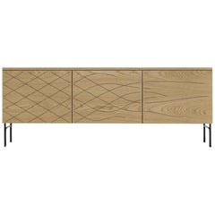 Färg & Blanche Couture Cabinet Natural Ashwood by BD Barcelona