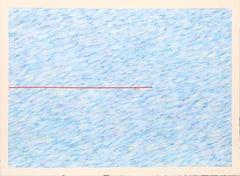 """""""Variation on a Red Line I"""", Farid Haddad, 1976"""