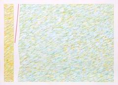 """Variation on a Red Line IV"", Farid Haddad, 1976"