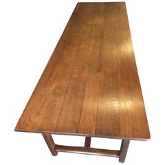 Farm House Table, Oak, Long