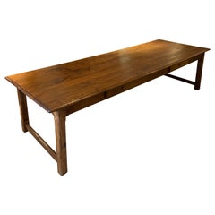 Farm Table, Elm Long and Wide