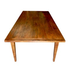 Farm Table in Vintage White Oak, Built to Order by Petersen Antiques