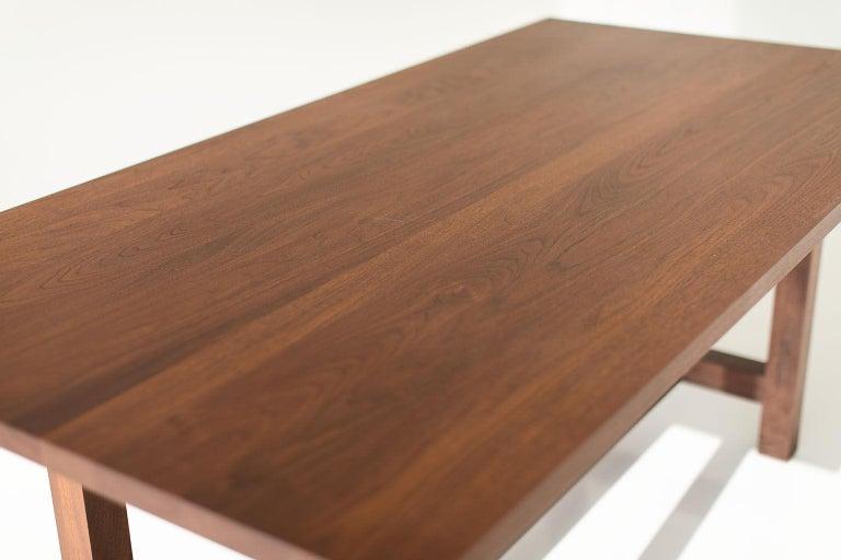 North American Farm Table, Walnut For Sale