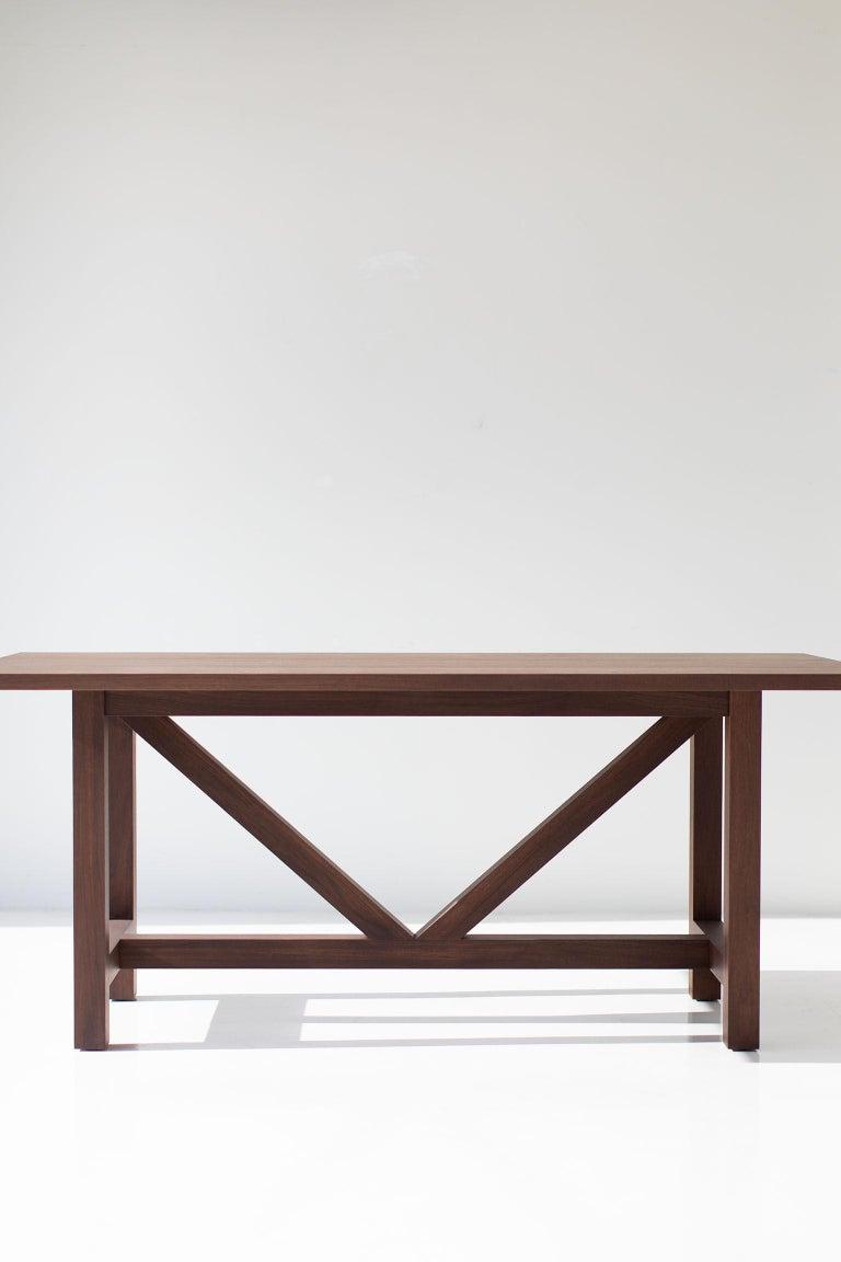 Farm Table, Walnut For Sale 1