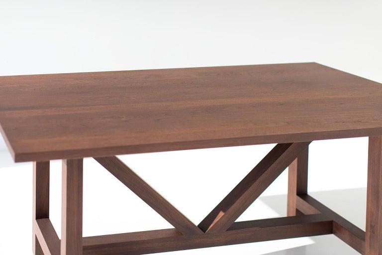 Farm Table, Walnut For Sale 2
