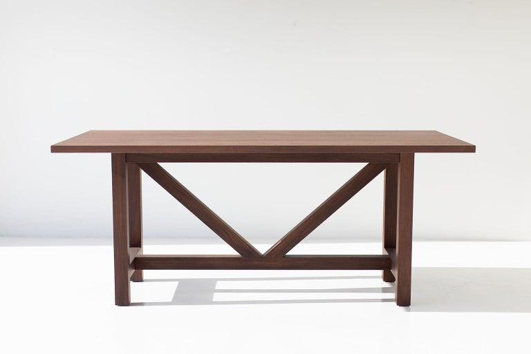 Farm Table, Walnut For Sale 3