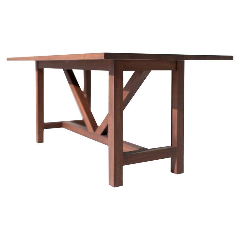 Farm Table, Walnut For Sale